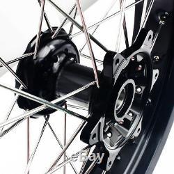 05-17 DRZ400SM 17 Front Wheel Set Suzuki DRZ400 DRZ400S DRZ400E Rim Hub Spokes