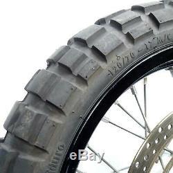 07-19 Suzuki DRZ400SM DRZ400 17 Black Excel Supermoto Front Rear Wheel Set CL
