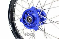 14 12 Kid's Small Rim Set Spoked Wheel Fit Yamaha Dirtbike Yz65 2019 Cnc Hub