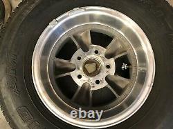 14 American Racing Torq Thrust Wheels Rims / Multi-Mile Grand Am Tires Set