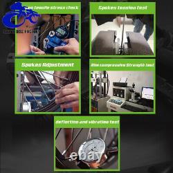 17&17 Supermoto Spoked Wheel Set Rims Hub Cush Drive DRZ400SM 2005-2017 Black