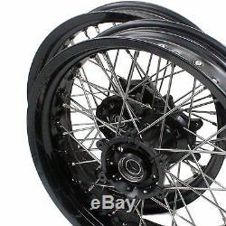 17/17 Suzuki Drz 400e/s/sm Supermoto Motard Wheel Set Wheels H Rms04