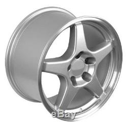 17 Silver C4 ZR1 Wheels Set of 4 Rims Fit Corvette SS Camaro Firebird TA CP