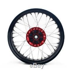 17 Supermoto Suzuki Rear Wheel Set Cush Drive DRZ400SM 05-17 DRZ400E DRZ400S