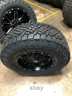 17x9 Fuel D531 Hostage Fuel AT Wheel and Tire Package Set 5x5.5 Dodge Ram 1500
