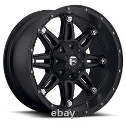17x9 Fuel D531 Hostage Fuel AT Wheel and Tire Package Set 6x5.5 Chevy GMC Toyota