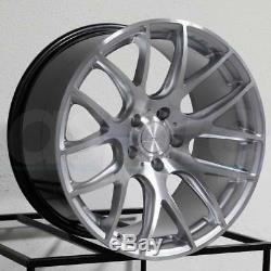 18 ESR SR12 Wheels Silver 18x8.5 +35 5x114.3 Rims Fits Honda Acura Lexus Set 4