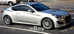 18 Ground Force GF7 18x9 5x108 Fits Ford Focus RS ST Concave Wheels Rims Set 4