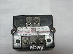 1960's Stewart Warner 990B Ignition Monitor Vintage Hot Rod Rat Rod Gasser