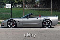 19 MRR GT5 Wheels Fits Chevy Corvette C5 19x8.5 / 19x9.5 Set of 4 Deep Dish