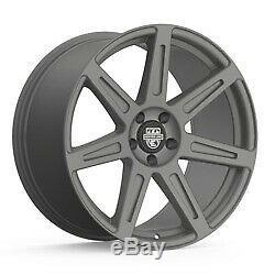 19x10.5 Centerline 670GM SM1 Rev 7 Satin Gunmetal Wheels 5x4.5 (45mm) Set of 4