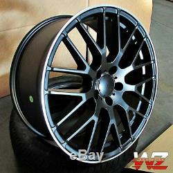 19x8.5 / 19x9.5 Mesh Wheels Fit Mercedes S430 S500 S550 E320 E500 19 Inch Set 4