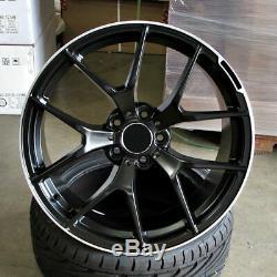 19x8.5 / 19x9.5 Wheels Fit Mercedes S430 S500 S550 E320 E500 19 Inch Rims Set 4
