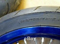 2014 Suzuki DRZ400 SM Super Moto S180-1. Excel OEM wheel set front rear 17in