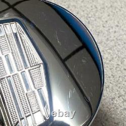 2015-2021 Cadillac Escalade Small 3 35/128 Chrome Center Caps # 23491795 Set/4