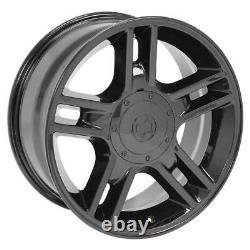 20 Black 3410 Wheels & Goodyear Tires SET Fit Ford F150 Harley style 20x9