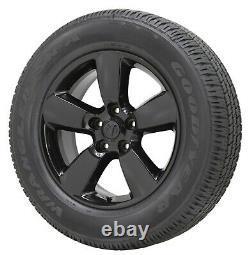 20 Dodge Ram 1500 Gloss Black Wheels Rims Tires Factory Oem Original Set 2495