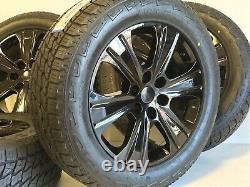 20 Ford F150 Expedition Set 4 04-19 Black Factory Oem Wheels Rims Tires Offr At