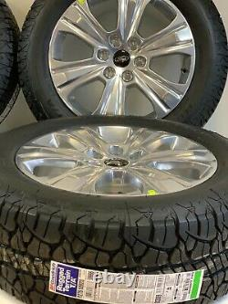 20 Ford F150 Expedition Set Of 4 04-19 Polished Factory Oem Wheels Rims Tires