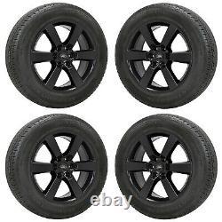 20 Ford F150 Sport Black Wheels Rims Tires Factory Oem Set 2005-2019 10005