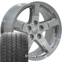 20 Polished 2364 Wheels & Goodyear Tires SET Fit Dodge RAM 1500 Durango