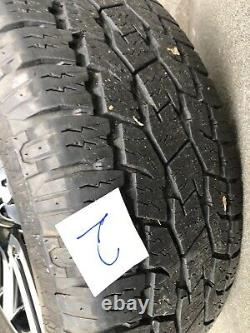 20 Toyoyta Limited OEM wheels tires full set Machined Black 69561 275 55R20 55