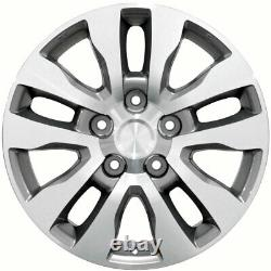 20 Wheel Tire SET Fit Toyota Tundra Style Silver Rims Mach'd 69533 GY Tires