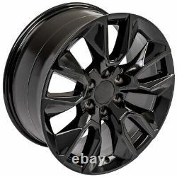 20 in 23377015 Wheel & GY Tire SET Fits 2019 Chevy Silverado CV32 Gloss Black