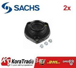 2x SACHS 802147 REAR SHOCK ABSORBER TOP MOUNT CUSHION SET