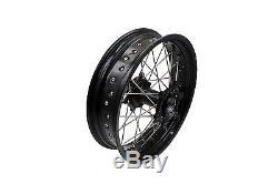 3.517/4.2517 Suzuki Drz400 Drz400s 400e Drz400sm Supermoto Motard Wheel Set
