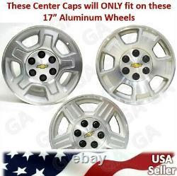 4 New Silverado Suburban Tahoe 17 Aluminum Wheel Center Hub Caps Rim Cover 959