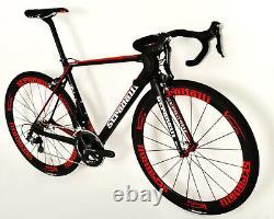50 Small Stradalli Carbon Fiber Wheelset Bitonto Shimano Ultegra 6800 Road Bike