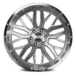 AXE AX1.1 Compression Forged Wheels 22x12 (-44, 8x170) Silver Rims Set of 4
