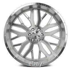AXE AX1.1 Compression Forged Wheels 22x12 (-44, 8x180) Silver Rims Set of 4