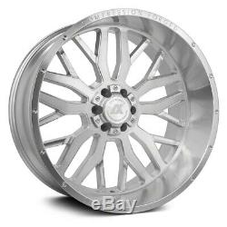 AXE AX1.1 Compression Forged Wheels 24x12 (-44, 6x139.7) Silver Rims Set of 4
