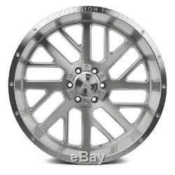 AXE AX2.1 Compression Forged Wheels 20x10 (-19, 6x139.7) Silver Rims Set of 4