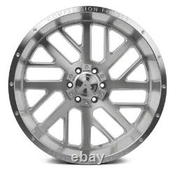 AXE AX2.1 Compression Forged Wheels 22x10 (-19, 6x139.7) Silver Rims Set of 4