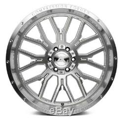 AXE AX6.1 COMPRESSION FORGED Wheels 22x12 (-44, 8x170) Silver Rims Set of 4