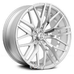 AXE EX30 Wheels 20x10 (42, 5x114.3, 73.1) Silver Rims Set of 4