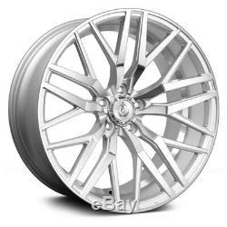 AXE EX30 Wheels 20x8.5 (+40, 5x114.3, 73.1) Silver Rims Set of 4