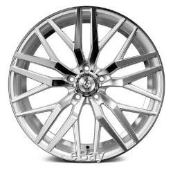 AXE EX30 Wheels 20x8.5 (40, 5x114.3, 73.1) Silver Rims Set of 4