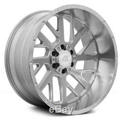 AXE Wheels 20x10 (-19, 8x170, 125.2) Silver Rims Set of 4