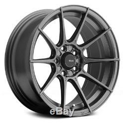 Advanti Racing STORM S1 Wheels 15x7 (+35, 4x100, 73.1) Gray Rims Set of 4