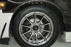 Advanti Racing STORM S1 Wheels 15x9 (35, 4x100, 73.1) Titanium Rims Set of 4