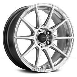 Advanti Racing STORM S1 Wheels 17x9 (35, 5x112, 66.6) Silver Rims Set of 4