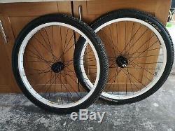 Alienation 440 Wheelset. 26inch Pro DJ wheels. Tomac kenda small block 8 tyres
