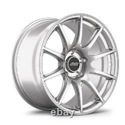 Apex Alloy Wheel Sm-10 18 X 9.0 Et30 Race Silver 5x120mm 72.56mm