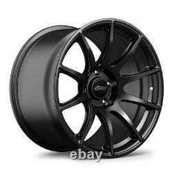 Apex Alloy Wheel Sm-10 18 X 9.5 Et35 Satin Black 5x120mm 72.56mm