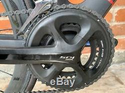 Argon18 E-112 Tri Bike. SMALL 51-53 cm Carbon Wheelset! BIN includes powermeter