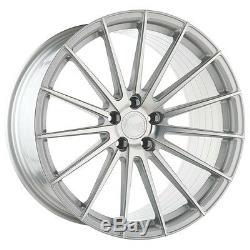 Avant Garde M615 20x10 5x112 +35 Silver Rotary Forged Wheels (Set of 4)